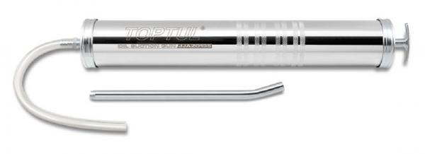 Pompa ulei manuala 1000 cc 445 mm furtun flexibil 27.5 cm furtun fix 23 cm
