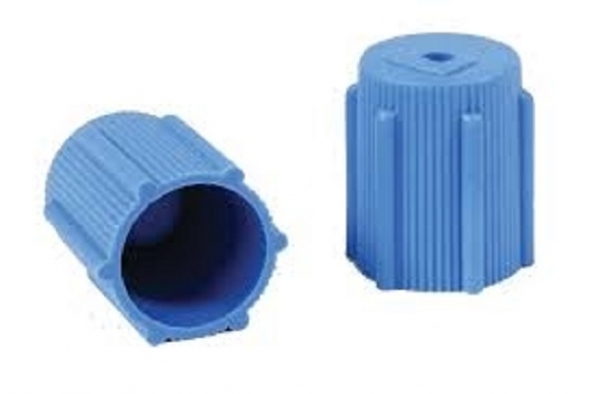 Set 10 bucati cap albastru ventil HP presiune joasa sistem climatizare aer conditionat Magneti Marelli