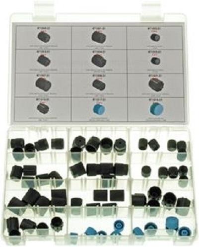 Set 60 bucati piulite dopuri conexiuni HP LP sistem climatizare aer conditionat auto