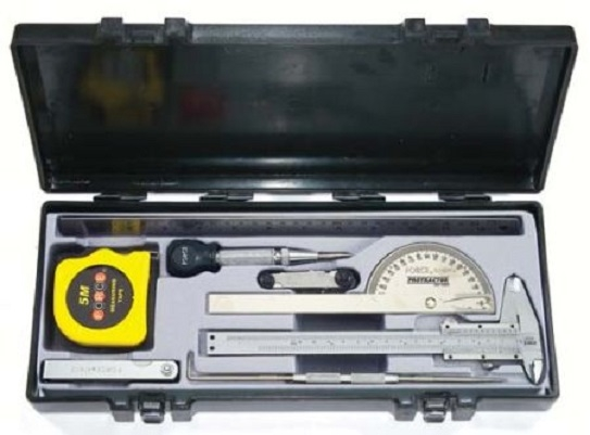 Set 9 bucati instrumente masurare