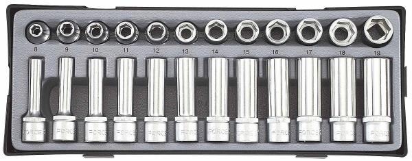 Set chei tubulare 1 2 - 24 piese