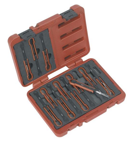 Set dispozitive extragerea cablurilor pinuri-lor, Sealey