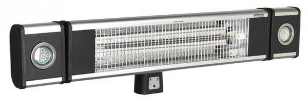 Sistem incalzire Incalzitor inalta performanta cu fibra de carbon cu infrarosu 1800W 230V 2 lampi lucru LED