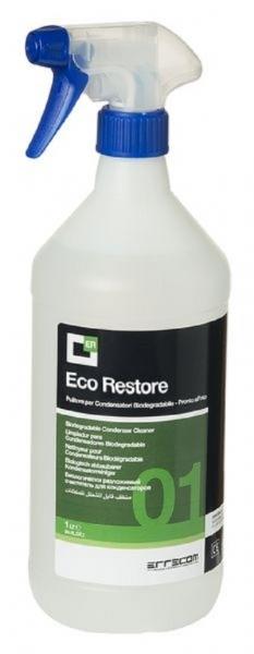 Spray curatare sistem climatizare condensatoare AC ERRECOM ECO RESTORE concentrat 1: 4 1 litru