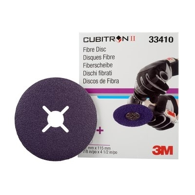 Disc de fibra 3M Cubitron II 115mmx22mm (5 discuri cutie)