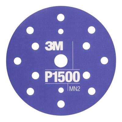 Disc abraziv flefibil hookit P1500 pachet de 25 buc 3M
