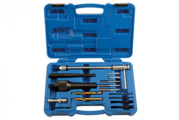 Set demontare bujii deteriorate 8 10mm Laser Tools