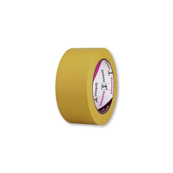 Banda PVC UV galbena 50mm 33m