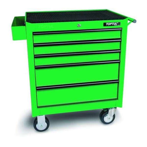 Dulap pentru scule standard verde 5 sertare 687x459x840mm