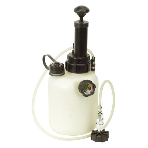 Aparat aerisit schimbat lichidul de frana sau ambreaje hidraulice rezervor 2 5L Sealey