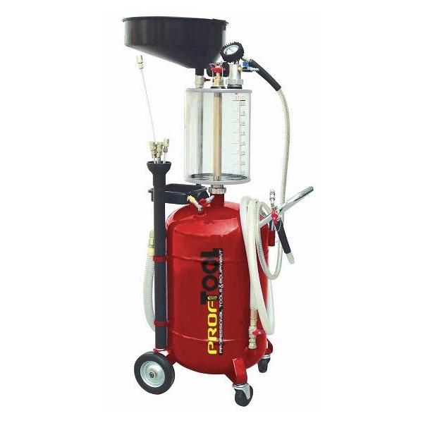 Recuperator ulei cu vacuum cu rezervor control 8l rezervor principal 90l