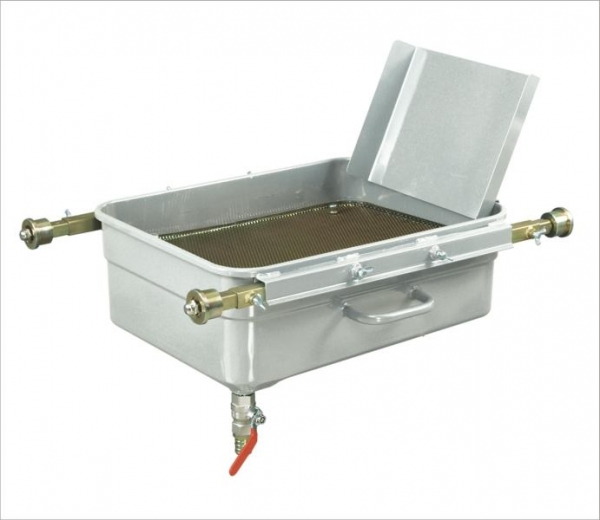 Recipient colectare ulei canal 65 litri 750 1200mm regraj role