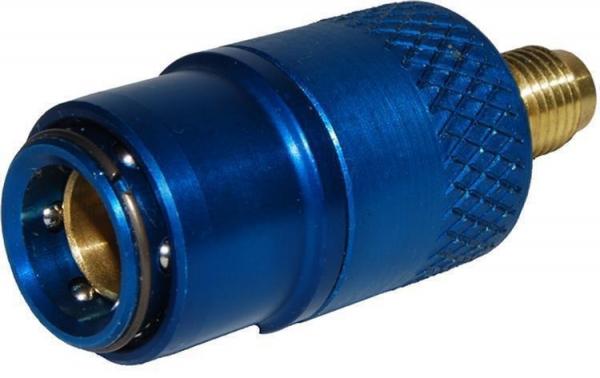 Cupla rapida albastra presiune joasa sistem climatizare auto 180 grade LP