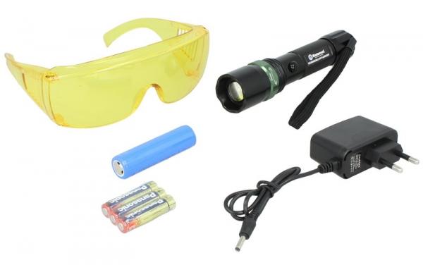 Lampa UV cu ochelari detectare scurgerilor freon refirgerant Mastercool functie Zoom