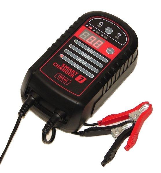 Redresor curent incarcare acumulator 3.5 7A 6 12V bateriile cu acid de tip AGM si cele cu gel