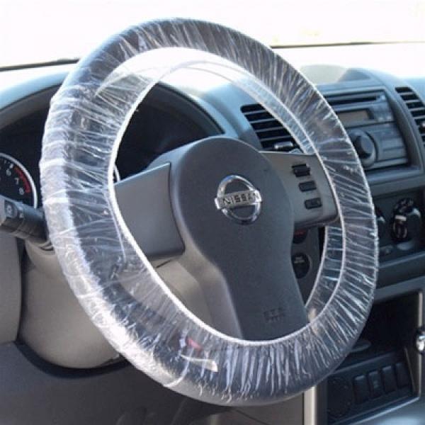 Husa protectie volan cu elastic pachet de 250 bucati