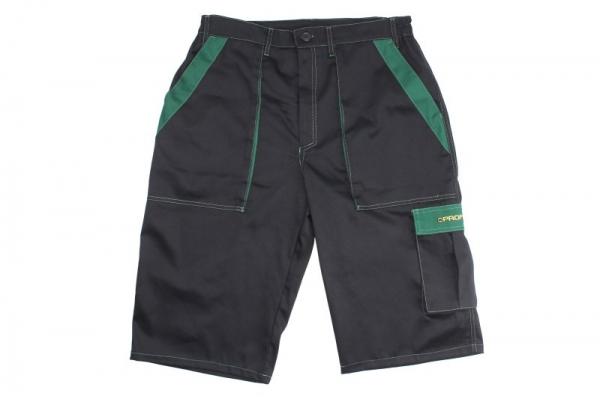 Pantaloni lucru scurti negru verde marimea L