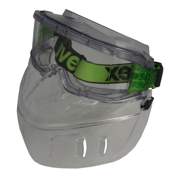 Ochelari protectie UVEX ultravision cu protectie fata lentile transparente acoperire anticondens