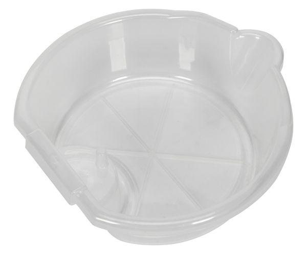 Recipient transparent colectare ulei uzat 300x100 mm 4.5 litri