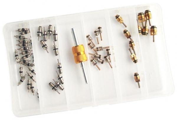 Set 51 valve supape R134a sistem climatizare aer conditionat