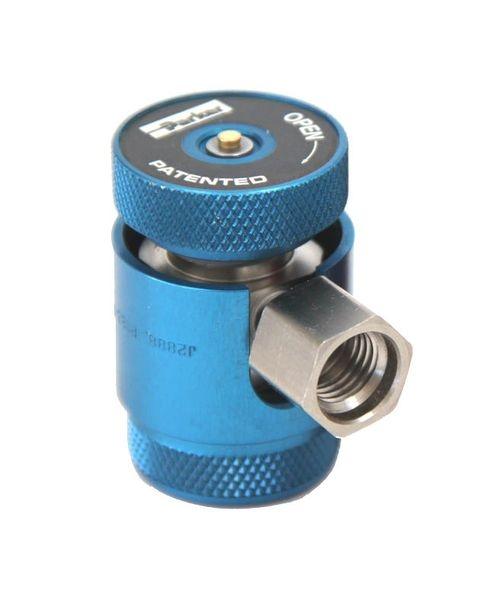 Cupla rapida albastru presiune joasa LP Parker R1234yf sistem climatizare aer conditionat Magneti Marelli