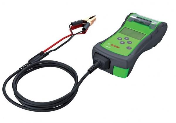 Tester baterie acumulator 6V 12V BAT 131 Bosch cu imprimanta