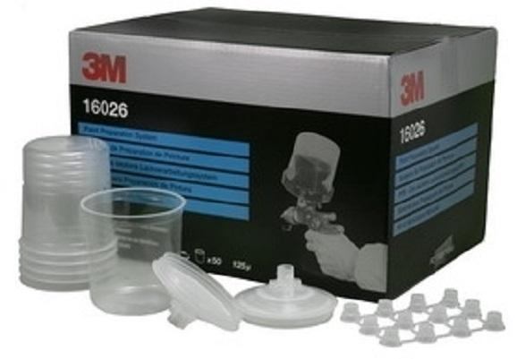 PPS standard 0.65L 50 Pungi Standardcapace cu filtru 125microni20 dopuri 3M