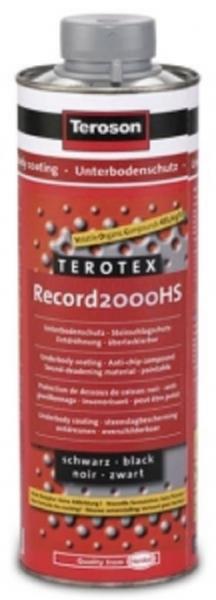 Solutie protectie sasiu antifon Terotex Record 2000 HS negru 1 litru