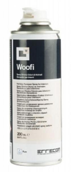 Spray nanotech eliminare mirosuri animale interior auto ERRECOM WOOFI 200 ml